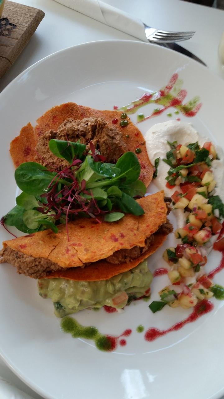 Raw Tacos at Tanyas Cafe Chelsea