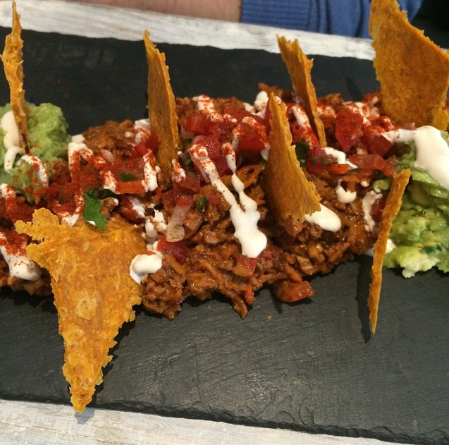 Chilli with guacamole at Nama
