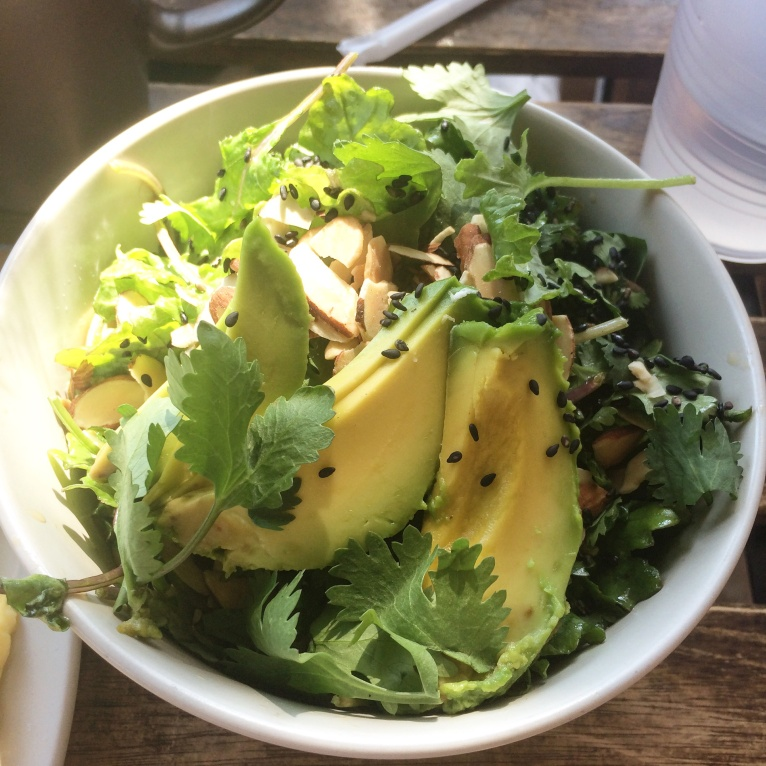 Valerie - LA - avocado salad